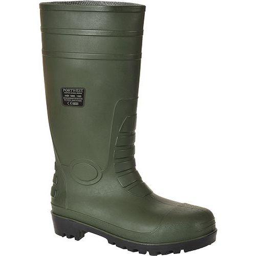Total védőcsizma S5, zöld
