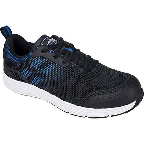 Steelite Tove Trainer S1P, kék/fekete