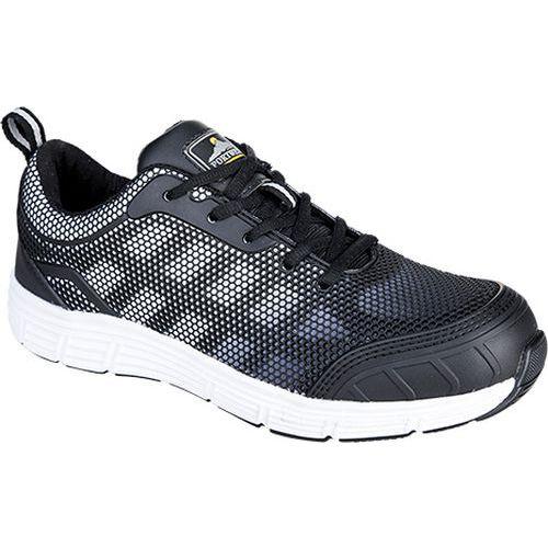 Steelite Tove Trainer S1P, fekete/fehér