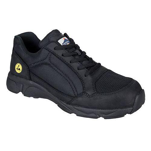 Portwest Compositelite ESD Tees védőcipő S1P, fekete