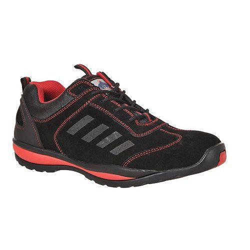 Steelite Lusum védőcipő S1P, piros