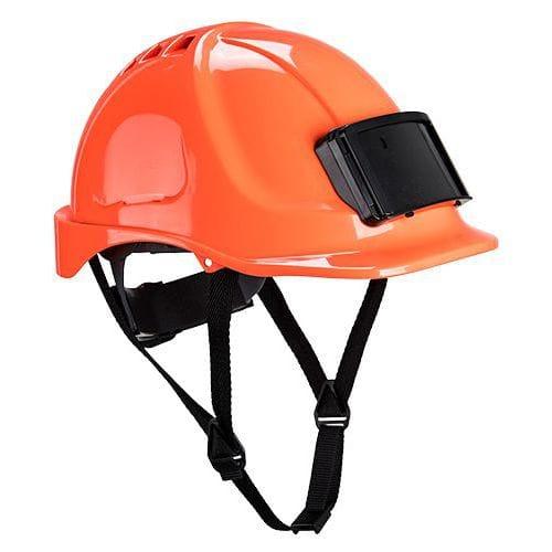 Endurance jelvénytartós védősisak, narancssárga