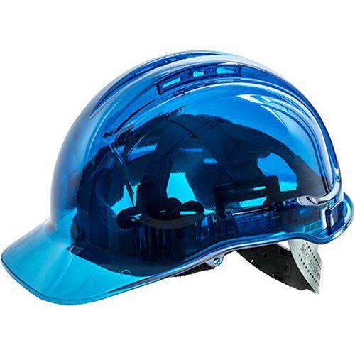 Peak View szellőző védősisak, kék