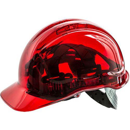 Peak View Plus védősisak, piros