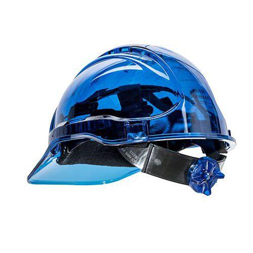 Peak View Plus gyorsbeállítós védősisak, kék