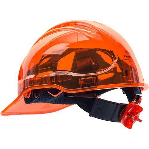 Peak View Plus gyorsbeállítós védősisak, narancssárga