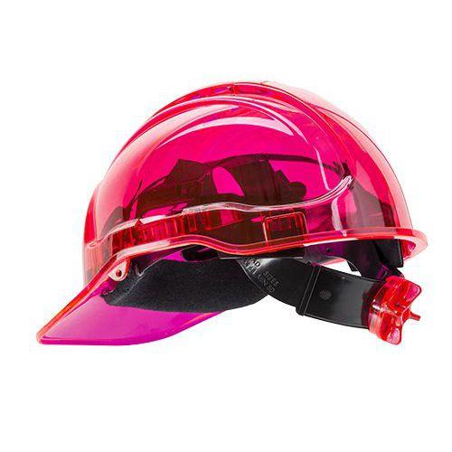 Peak View Plus gyorsbeállítós védősisak, rózsaszín