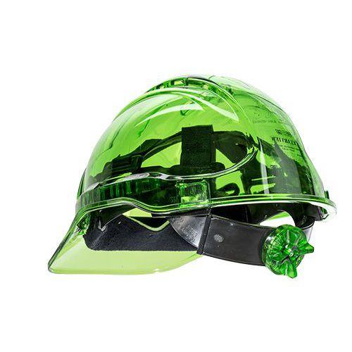 Peak View Plus gyorsbeállítós védősisak, zöld