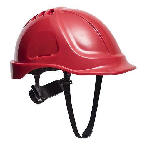 Endurance védősisak védőszemüveggel, piros