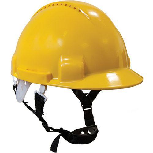 Monterosa védősisak, sárga