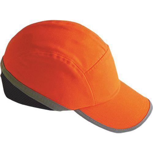 Hi-Vis ütésbiztos baseball sapka, narancssárga