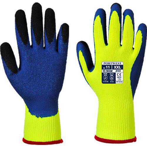 Duo-Therm kesztyű, kék/sárga