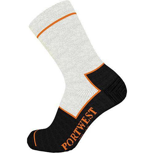 Vágásbiztos zokni, fekete