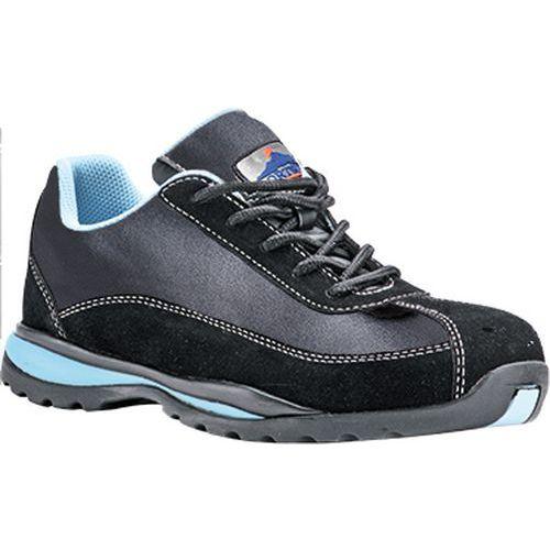 Steelite női védőcipő S1P, fekete,kék