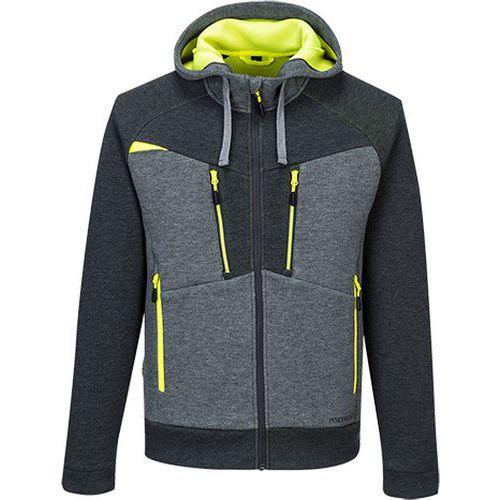 DX4 kapucnis pulóver, szürke