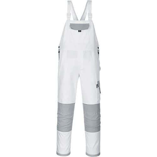 Painters Pro kantáros nadrág, fehér