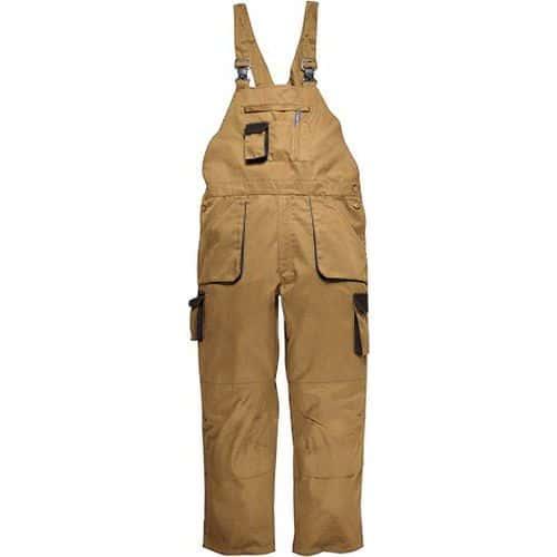 Portwest Texo Contrast kantáros nadrág, világos barna