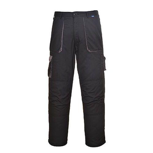 Portwest Texo Contrast bélet nadrág, fekete