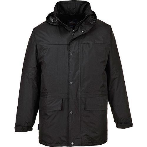 Oban polár bélelt kabát, fekete