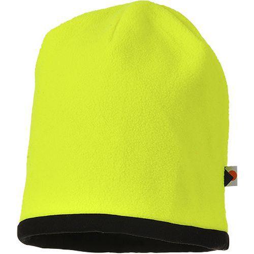Kifordítható HiVis sapka, fekete/sárga
