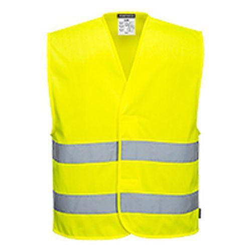 MeshAir Hi-Vis kéttónusú mellény, sárga