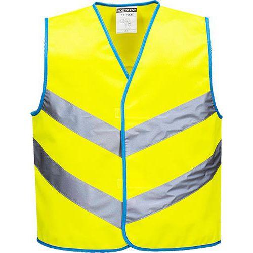 Junior Colour Bright mellény, sárga