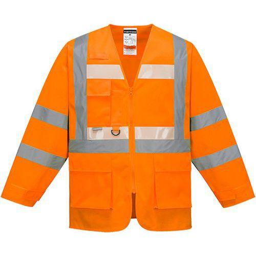 Glowtex vezetői kabát, narancssárga