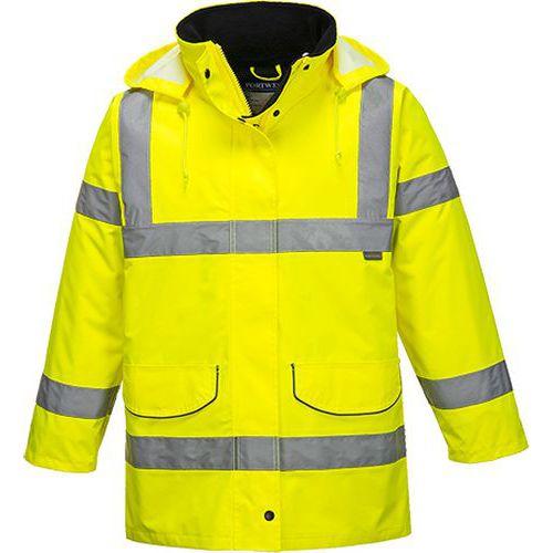Női Traffic kabát, sárga