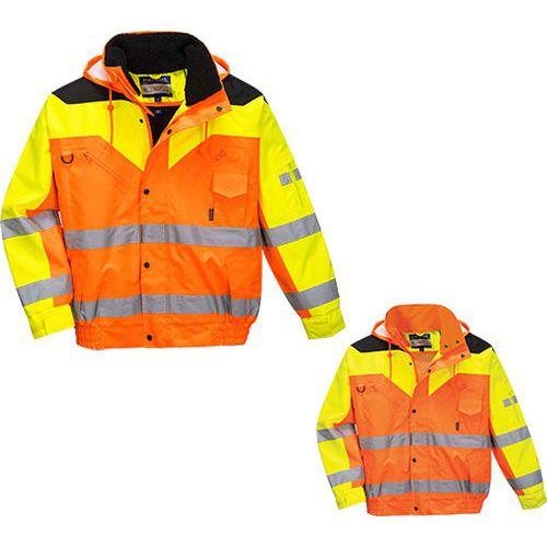 Contrast Plus bomber dzseki, narancssárga