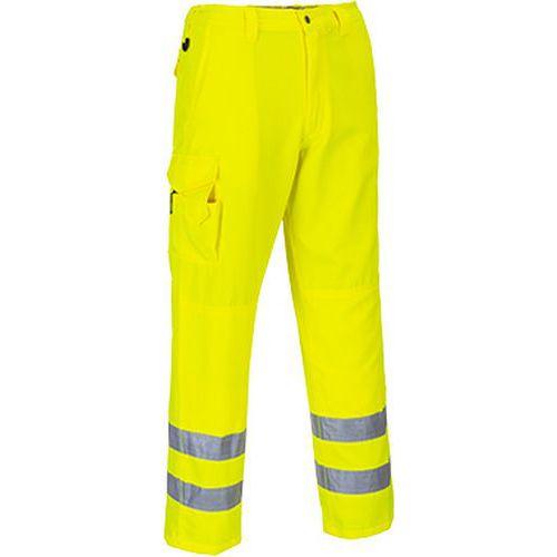 Hi-Vis Combat nadrág, sárga, kiterjesztett