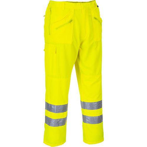 Hi-Vis Action nadrág, sárga, kiterjesztett