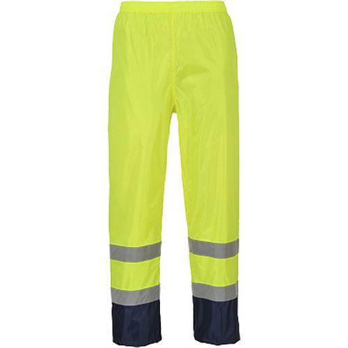 Hi-Vis Classic Contrast esőnadrág, kék/sárga