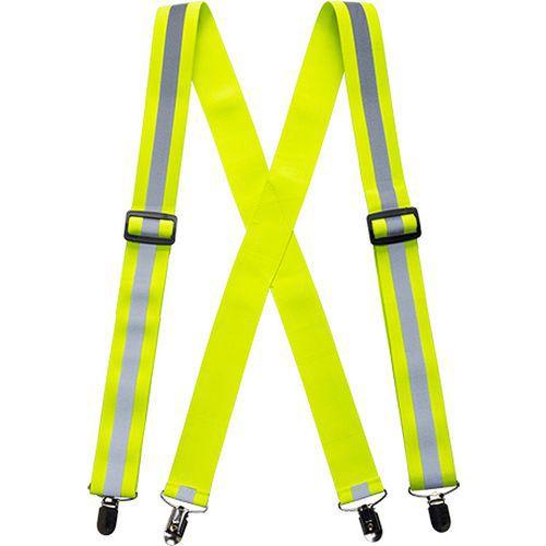 Jól láthatósági nadrágtartó, sárga