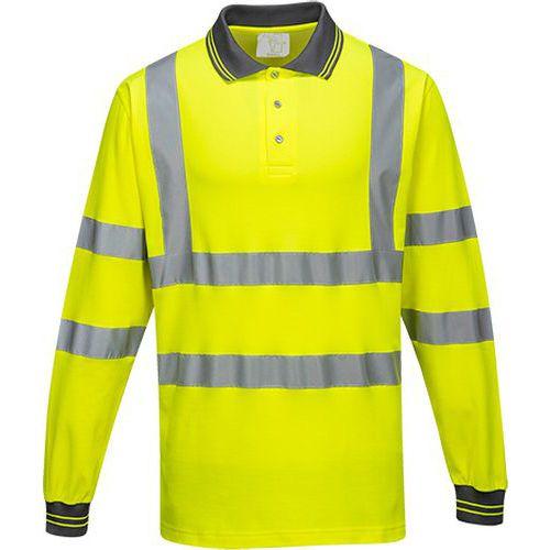 Hosszú ujjú Cotton Comfort pólóing, sárga