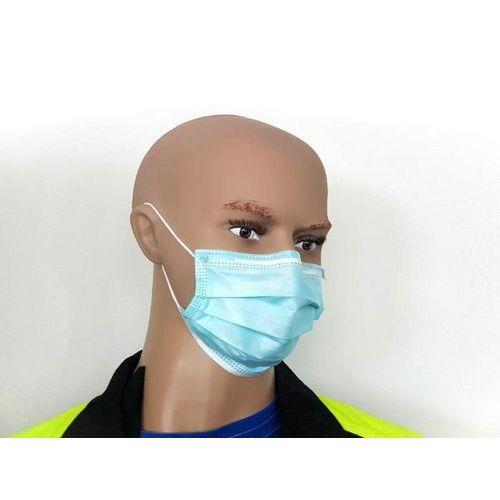 Orvosi maszk, 3 rétegű, egyszerhasználatos, 50 db