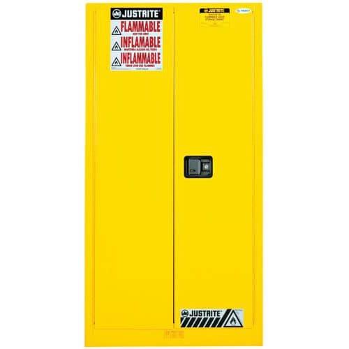 Szerszekrények gyúlékony anyagokra Justrite Sure-Grip® EX, 1651 x 864 x 864 mm
