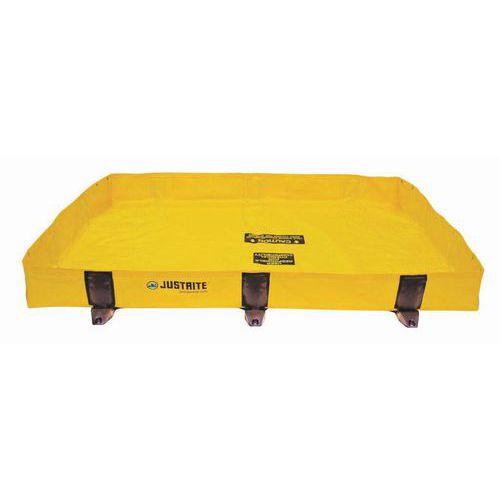 Záchytné nádrže Justrite RIGID-LOCK QUICKBERM®, žluté, 299 - 451 l