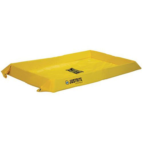 Kármentő tartályok Justrite, sárga, magassága 10,2 cm, 38 - 303 l