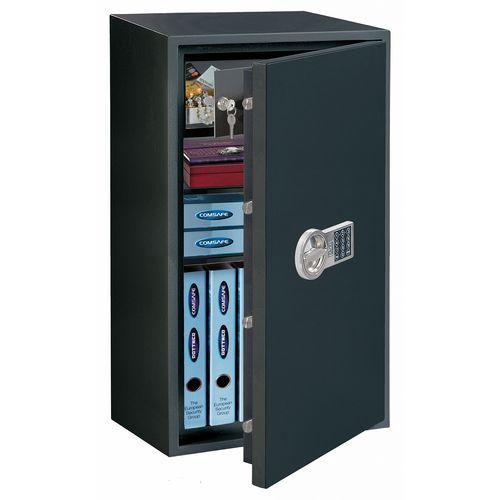 Bútorszéf Power Safe elektronikus zárral, biztonsági osztály S2 + LED szenzoros lámpa ajándékba