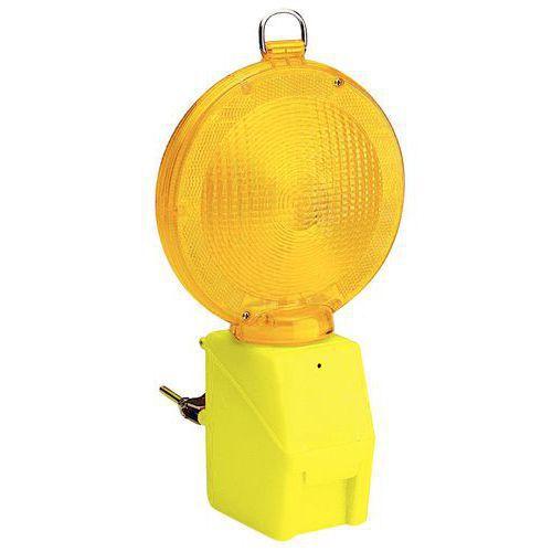 Figyelmeztető közúti világítás, sárga