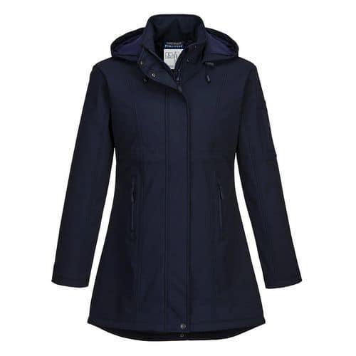Carla Softshell kabát, kék