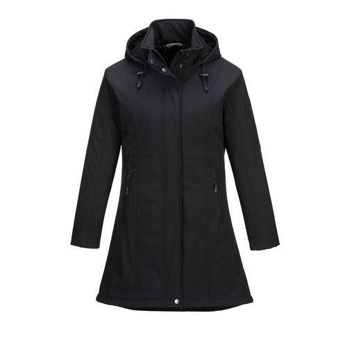 Carla Softshell kabát, fekete