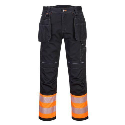 PW3 Hi-Vis Class 1 Holster nadrág, fekete/narancssárga