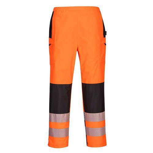 PW3 Hi-Vis női eső nadrág, fekete/narancssárga