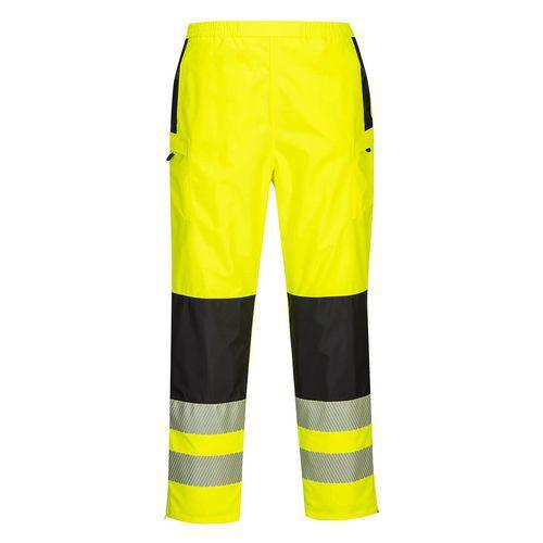 PW3 Hi-Vis női eső nadrág, fekete/sárga